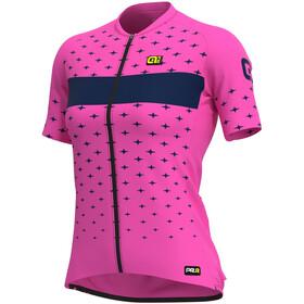 Alé Cycling PRR Stars SS Jersey Women, rosa/azul